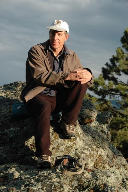 This July 2008 photo provided by Cory Freyer shows Thomas Ely Taplin. The documentary filmmaker from Colorado was an American killed in a Mount Everest avalanche triggered by the recent earthquake that shook Nepal. Taplin's wife, Freyer, said Monday, April 27, 2015, that he was working on a documentary about the community of climbers at the base camp and had been there only a short time when the 7.8 magnitude earthquake struck. (Cory Freyer via AP)