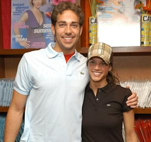 Zachary Levi and Missy Peregrym -- Getty Images
