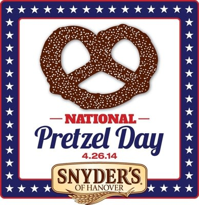 Snyder's of Hanover Invites Consumers to Join the National Pretzel Day Celebration