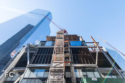 Construction Watch: Glory Be, 3 World Trade Center Finally Started Rising Again