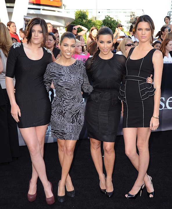 The Twilight Saga Eclipse LA premiere 2010 Kardashian