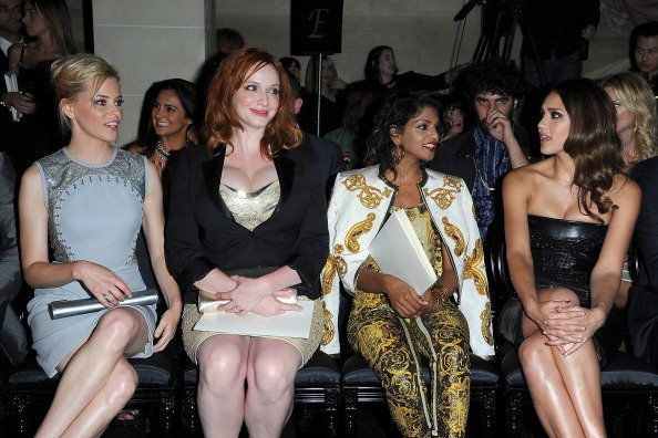 Elizabeth Banks, Christina Hendricks, M.I.A. y Jessica Alba - Getty Images