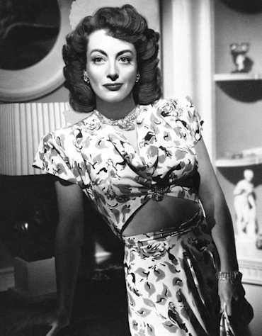 In this August 10, 1946 file photo, actress, Joan Crawford, is seen as she appeared in &quot;Mildred Pierce.&quot; (AP Photo, File)