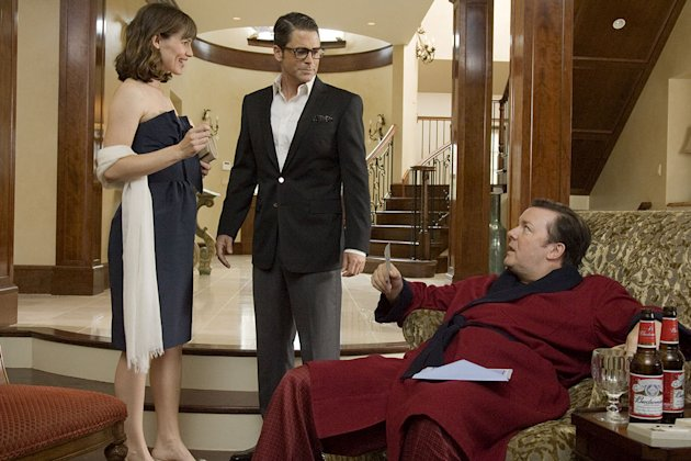 The Invention of Lying Production Photos 2009 Jennifer Garner Rob Lowe Ricky Gervais