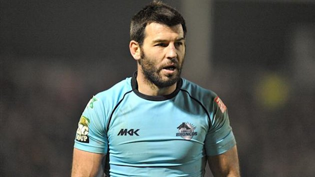 Craig Gower, London Broncos, 2012 (PA Sport)