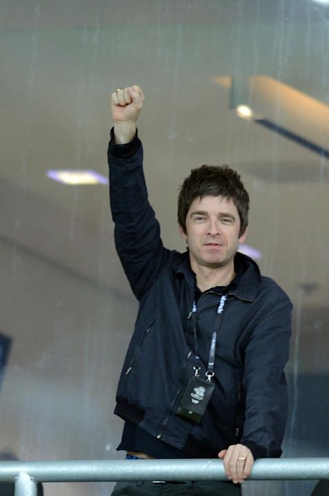 British Musician Noel Gallagher Gestures AFP/Getty Images