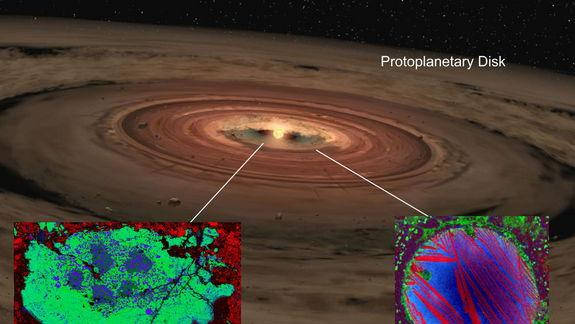 New Theory on Formation of Solar System's First Stuff
