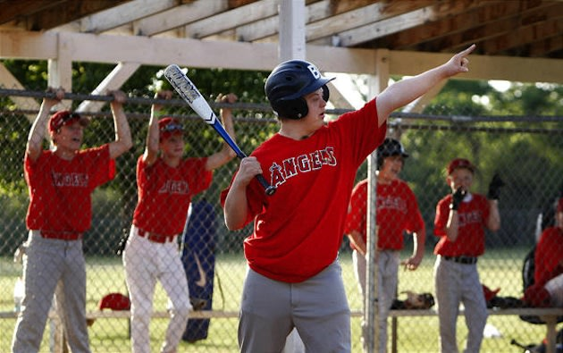 17-year-old youth baseball player Blake Curtis, who competes with Down Syndrome — Deseret News