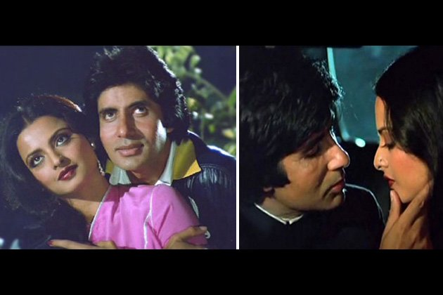 Amitabh and Rekha&amp;#39;s sizzling chemistry