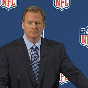 "Goodell: ""I made a mistake"""