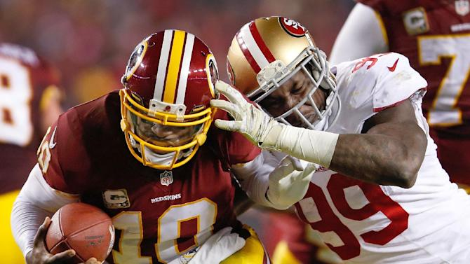 Aldon Smith thankful for new start, more playoffs