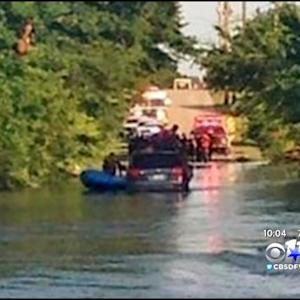 Two Men Rescued From Rushing Water In Dallas
