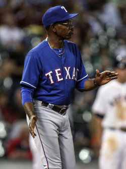 Injuries have decimated this season's roster for the Rangers and manager Ron Washington. (USA Today)