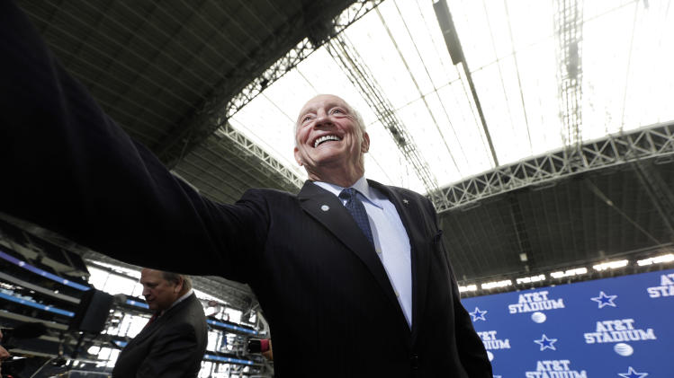 Cowboys Stadium renamed AT&T Stadium