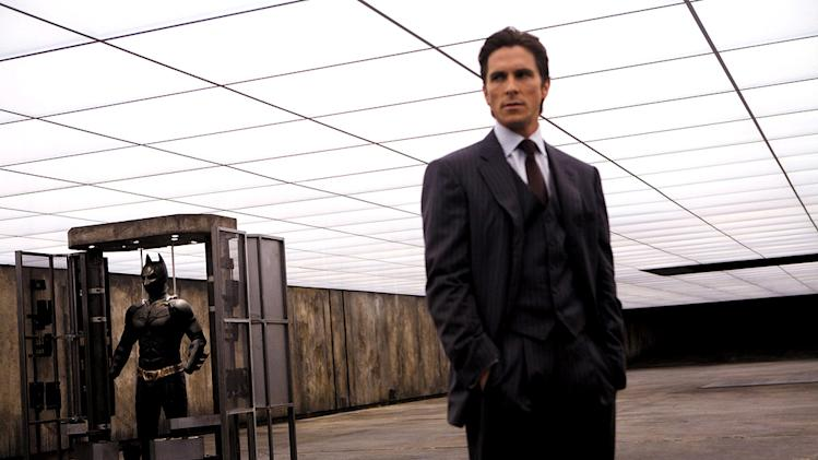 The Dark Knight Production Stills 2008 Christian Bale