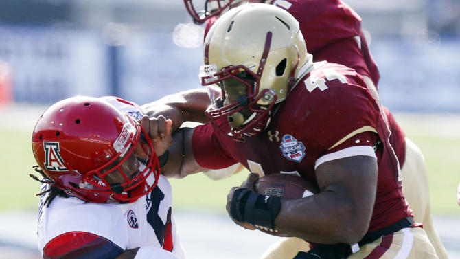 Arizona easily beats Boston College 42-19