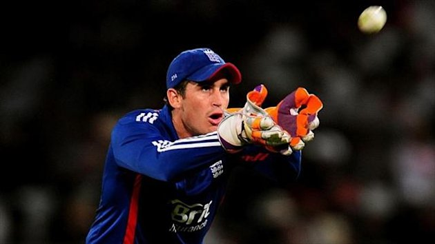 Craig Kieswetter sustained the thumb injury against Somerset on Sunday