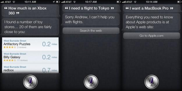 iPhone 4S robo-brain Siri doesn't play well outside the U.S.