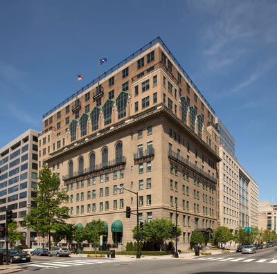 The Army Navy Club Building located in Washington, DC's Central Business District
