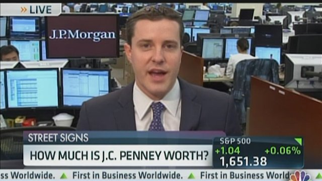 How Much is JC Penney Worth?