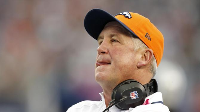 Broncos coach John Fox released from hospital