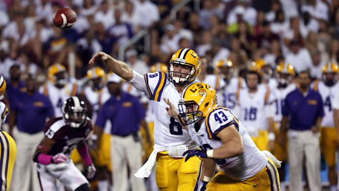 LSU's potent pass game gets tough test vs. Florida