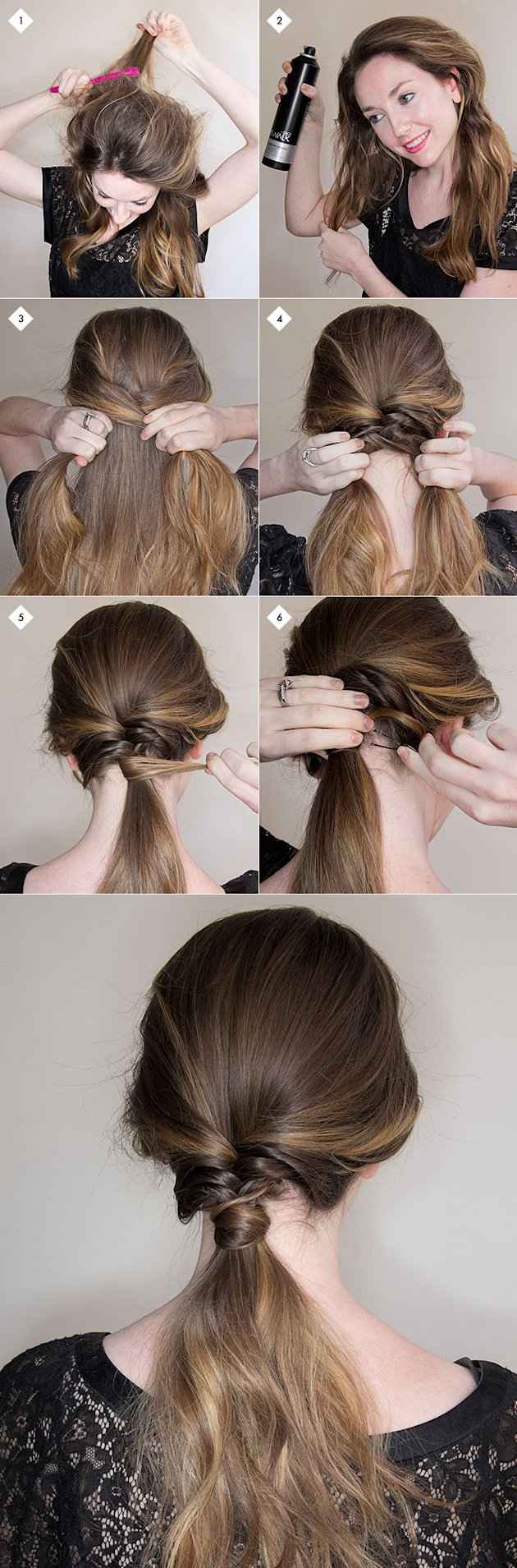Feminine Blog: Chic, Simple Hairstyles Anyone Can Do