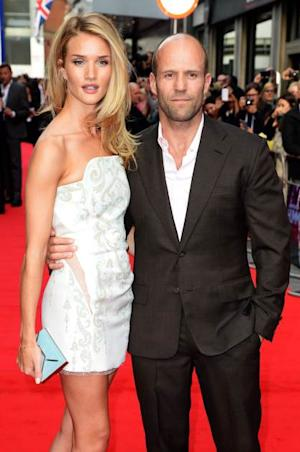 Rosie Huntington-Whiteley and Jason Statham attend the UK premiere of 'Hummingbird' at The Odeon West End on June 17, 2013 in London -- Getty Premium