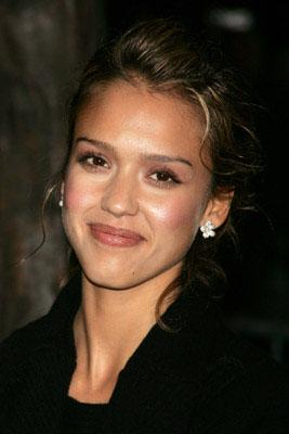 Jessica Alba at the LA premiere of 20th Century Fox's Walk the Line