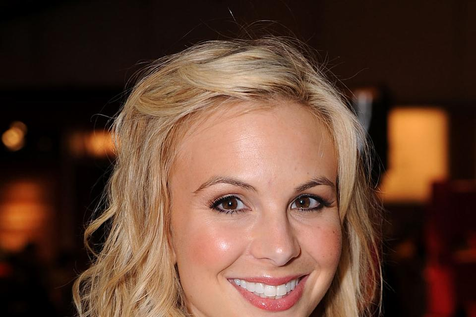 Elisabeth Hasselbeck attends Mercedes-Benz Fall 2009 Fashion Week at Bryant Park on February 18, 2009 in New York City.