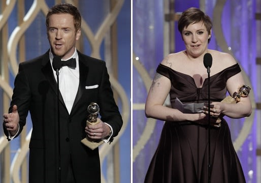 Golden Globes 2013: Homeland, Game Change and Girls Win Big