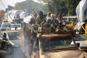 Clashes in the Central African Republic capital