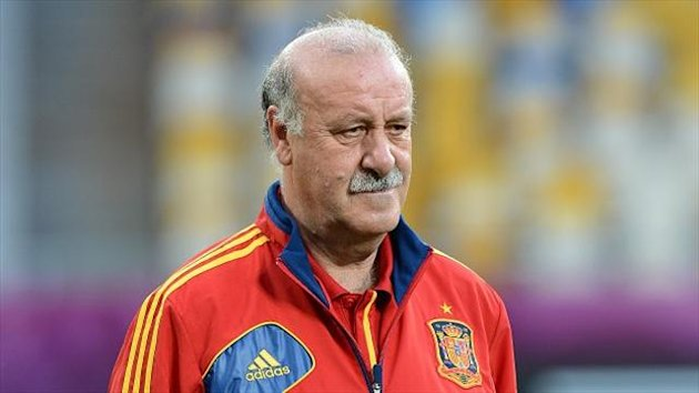 Vicente Del Bosque was pleased with how Spain approached their clash with Tahiti