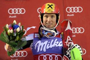 Hirscher wins World Cup slalom opener