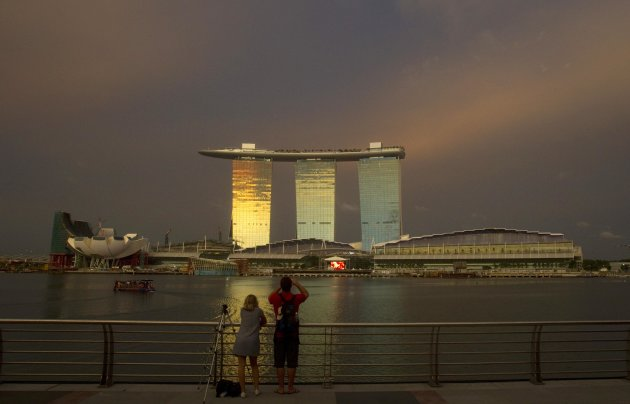 A boy in Singapore who made a bomb threat against Marina Bay Sands has been arrested. (Reuters file photo)