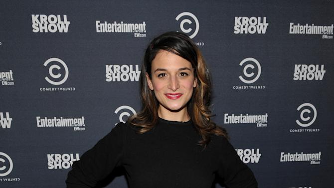 """Actress Jenny Slate attends an exclusive screening of Comedy Central's """"Kroll Show"""" hosted by Entertainment Weekly on Tuesday, January 15, 2013 at LA's Silent Movie Theatre in Los Angeles. (Photo by John Shearer/Invision for Entertainment Weekly/AP Images)"""