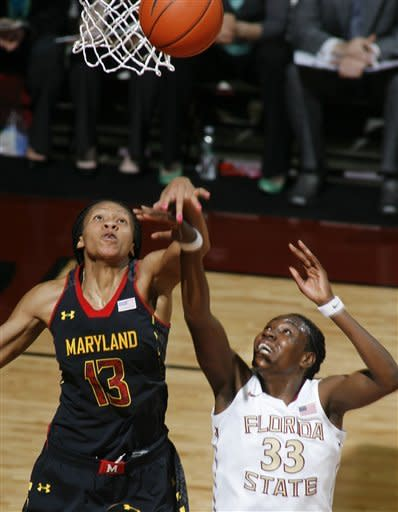 Deluzio's free throw lifts FSU women over Maryland