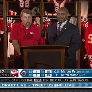 Kansas City Chiefs pick linebacker D.J. Alexander No. 172 in 2015 NFL Draft