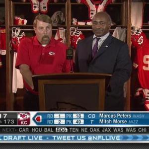 Kansas City Chiefs pick linebacker D.J. Alexander No. 172 in 2015 NFL Draft