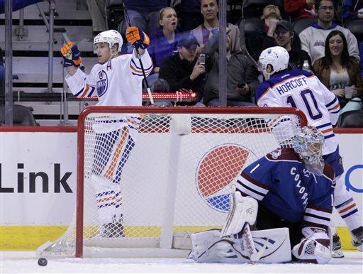 Oilers snap 6-game skid with 4-1 win over Avs