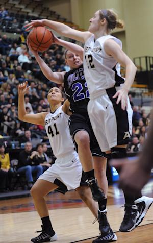 Army women beat Holy Cross to win Patriot League