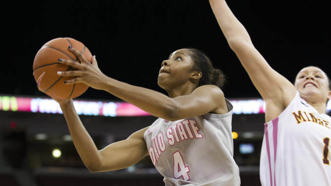 NCAA Womens Basketball: Minnesota at Ohio State