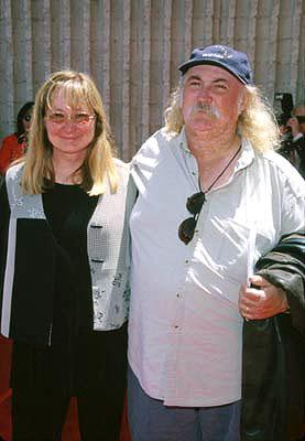 David Crosby and wife at the Westwood premiere of 20th Century Fox's Star Wars: Episode I