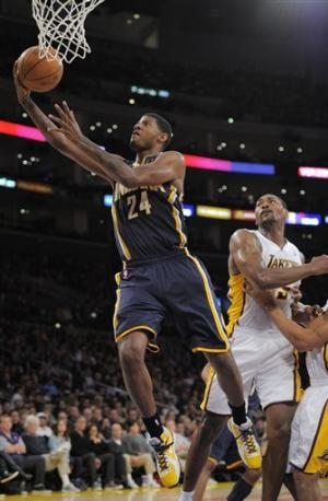 Hibbert leads Pacers past Lakers, 98-96