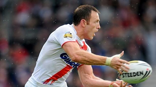 James Roby made his St Helens return at Hull
