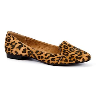  Leopard Print Suedette Loafers New Look: Smoking Slippers: Fashion Trend 