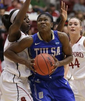Stanford women need big second half to beat Tulsa