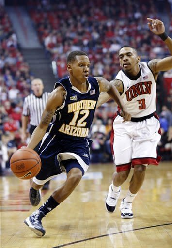 No. 18 UNLV beats Northern Arizona