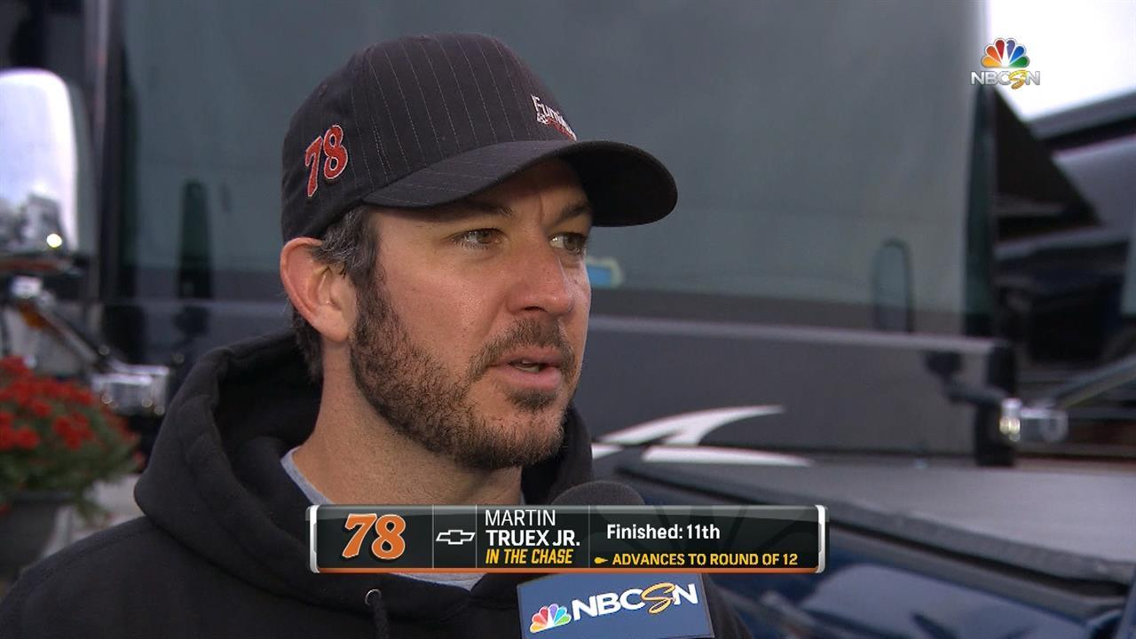 Truex Jr.: 'Did what we had to do' at Dover