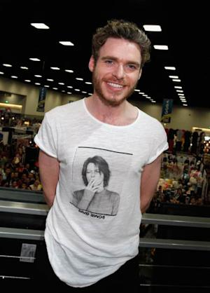 Richard Madden attends HBO's 'Game Of Thrones' cast autograph signing at San Diego Convention Center on July 19, 2013 -- Getty Images
